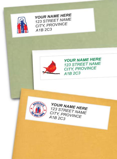 Address Labels The War Amps